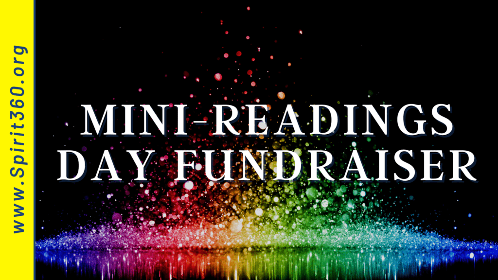 psychic readings day fundraiser for spirit360 fellowship