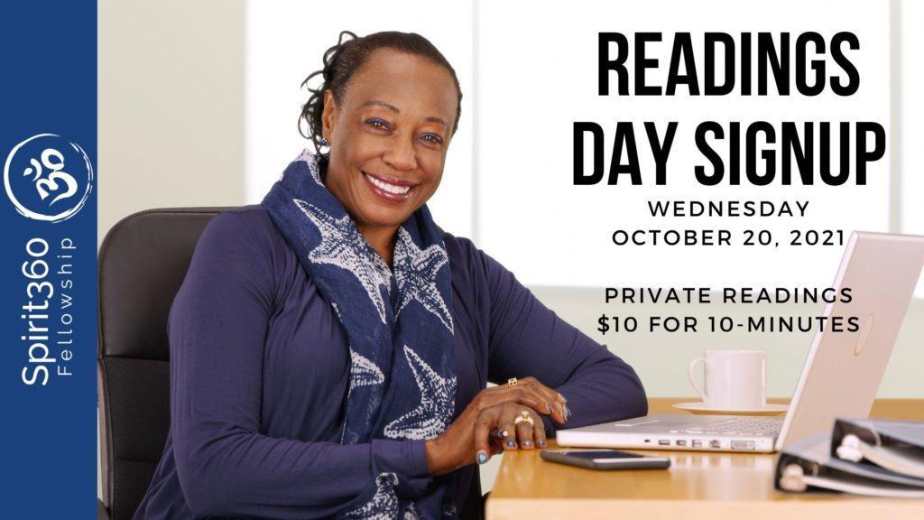 almost free spiritualist mediumship reading